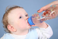 Free Baby Drink Water Royalty Free Stock Photos - 2087078