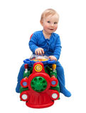 Baby driver Royalty Free Stock Photo