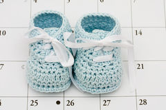Baby Due Date Stock Images