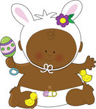 Baby Easter Black Royalty Free Stock Photo