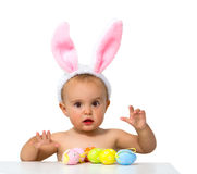 Baby easter Stock Images
