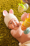 Baby Easter bunny Royalty Free Stock Photo