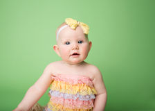 Baby Easter outfit Royalty Free Stock Photos
