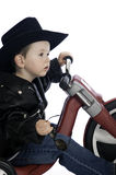 Baby Easy Rider Stock Photo