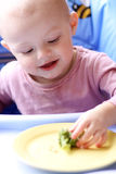 Baby eat Stock Photo