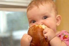 Baby eat Stock Photo