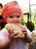 Baby eat stock photos