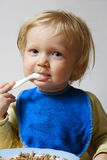 Baby eating Royalty Free Stock Photo