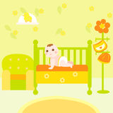 Baby eco room Stock Image