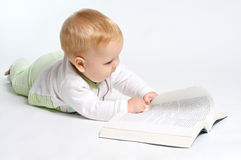 Baby education Royalty Free Stock Photo