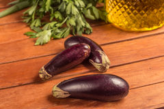 Baby Eggplant. Mini Royalty Free Stock Photo