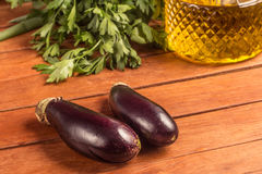 Baby Eggplant. Mini Stock Photography