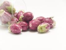 Baby eggplants Royalty Free Stock Photography