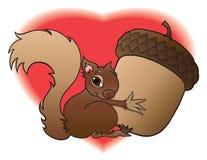 Baby-Eichhörnchen Lizenzfreies Stockfoto