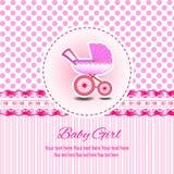 Baby-Einladungs-Karte Lizenzfreie Abbildung