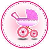 Baby-Einladungs-Karte Stockfotografie