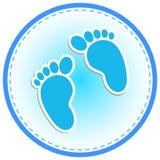 Baby-Einladungs-Karte Lizenzfreie Stockfotos