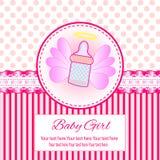 Baby-Einladungs-Karte Stock Abbildung