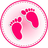 Baby-Einladungs-Karte Vektor Abbildung