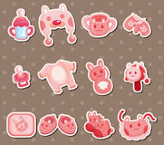 Baby element stickers Stock Photo
