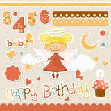 Baby elements set Stock Photography