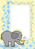 Baby elephant. Stock Image
