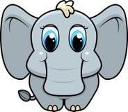 Baby Elephant. A cute cartoon baby elephant Stock Photography