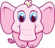 Baby Elephant. A cute cartoon baby elephant Royalty Free Stock Image