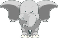 Baby Elephant Cartoon Character Stock Photo