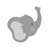 Baby elephant cartoon. Icon vector illustration graphic design Stock Photography