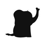 Baby elephant cartoon. Icon vector illustration graphic design Royalty Free Stock Photos