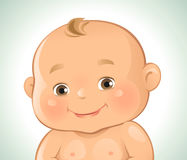 Baby Emotions- Smiling Stock Photo
