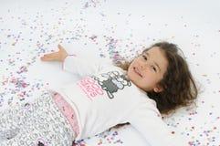 Baby en Carnaval Stock Foto's