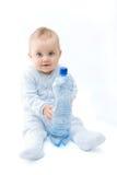 Baby en water Royalty-vrije Stock Afbeelding