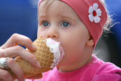 Baby with expression Royalty Free Stock Photography