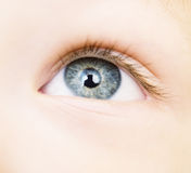 Baby eye Royalty Free Stock Photo