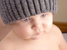 Baby eyelashes Royalty Free Stock Image