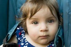 Baby eyes royalty free stock photo