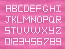 Baby fabric script for girl. Stock Images