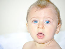 Baby face Stock Image
