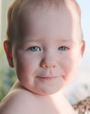 Baby face Royalty Free Stock Photography