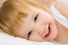 Baby face Royalty Free Stock Photo