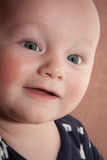 Baby Face Close Up Royalty Free Stock Photos