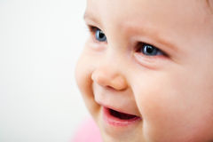 Baby face closeup Royalty Free Stock Photography