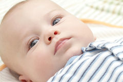 Baby Face: Sleepy, Calm Stock Photography