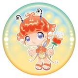 Baby Fairy. Royalty Free Stock Photo