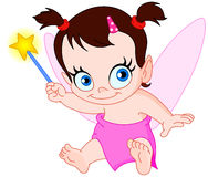 Baby fairy Stock Image