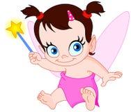 Baby fairy Stock Image
