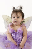 Baby fairy. Beautiful baby girl in princess fairy costume Royalty Free Stock Photography