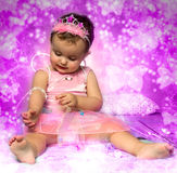 Baby fairy Royalty Free Stock Photography
